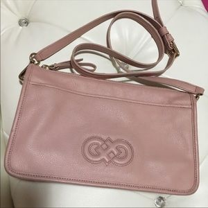 Cole Haan used pink cross body purse